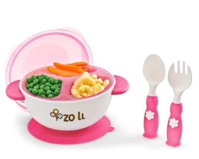 zoli stack bowl pink