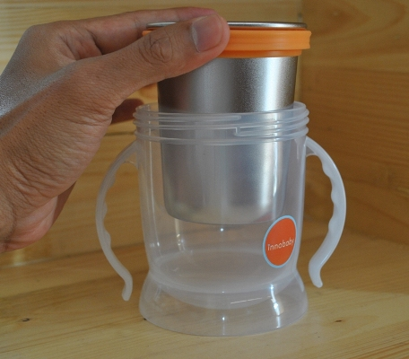 Sippin' Smart ez flow stainless sippy - stainless cup