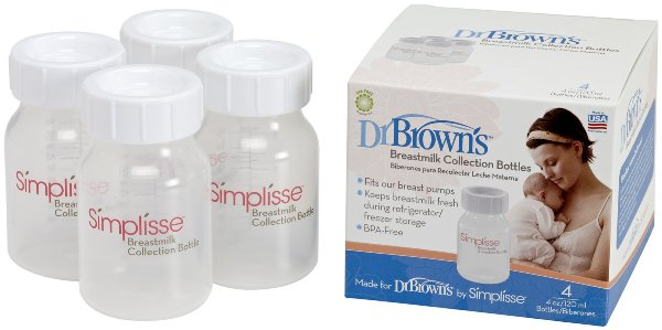 drbrowns breastmilk collection bottles