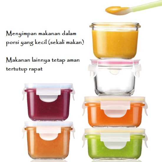 yumyum baby food container by glasslock 6