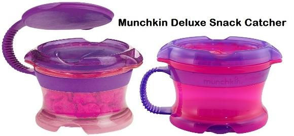 Munchkin Click Lock Deluxe Snack Catcher