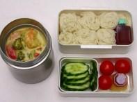 Mini Food Jar untuk membawa bekal makanan berkuah. Sumber gambar: www.lunchinabox.net