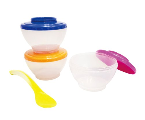lucky baby food pots