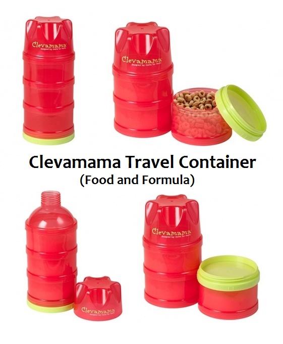 1b5ee6bc73c4 Clevamama Travel Container (Food and Formula) - AsiBayi