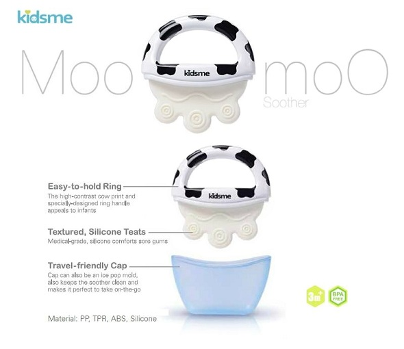 Kidsme Icy Moo Moo Soother 2