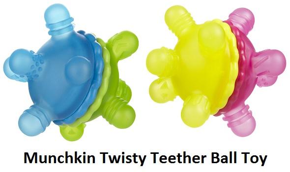 Munchkin Twisty Teether Ball Toy 3