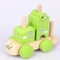 HAPE Toys Fantasia Blocks Train 2