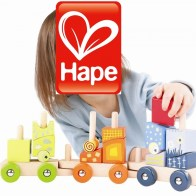 HAPE Toys Fantasia Blocks Train 6