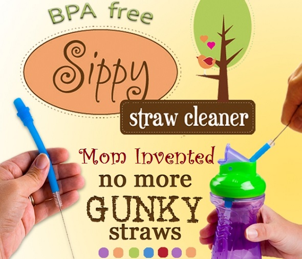 mom invented sippy straw cleaner 2