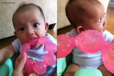 Nuby Ring Teether 1