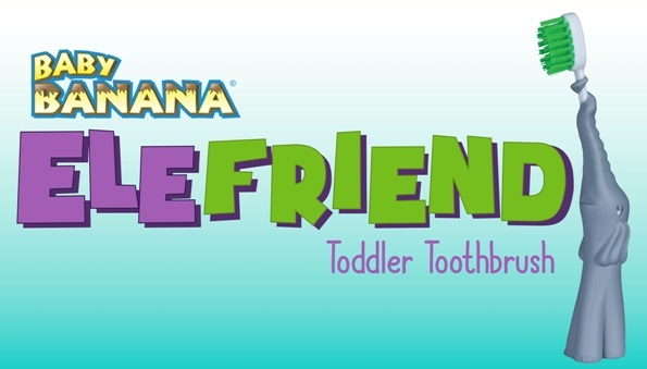 Ele Friend Toddler Toothbrush