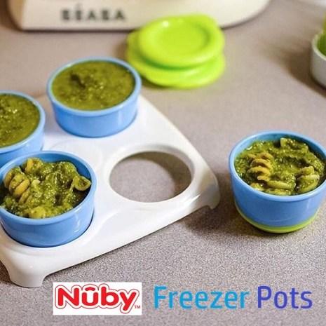 Nuby Freezer Pots