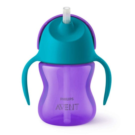 Avent Bendy Straw Cup 200ml SCF796 (ungu)