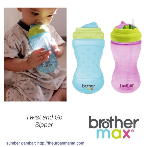 BrotherMax Twist and Go Sipper