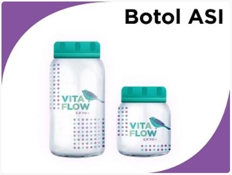 VitaFlow Botol ASI Ukuran