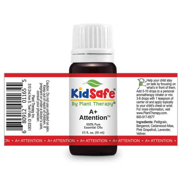 A+ Attention KidSafe by Plant Therapy