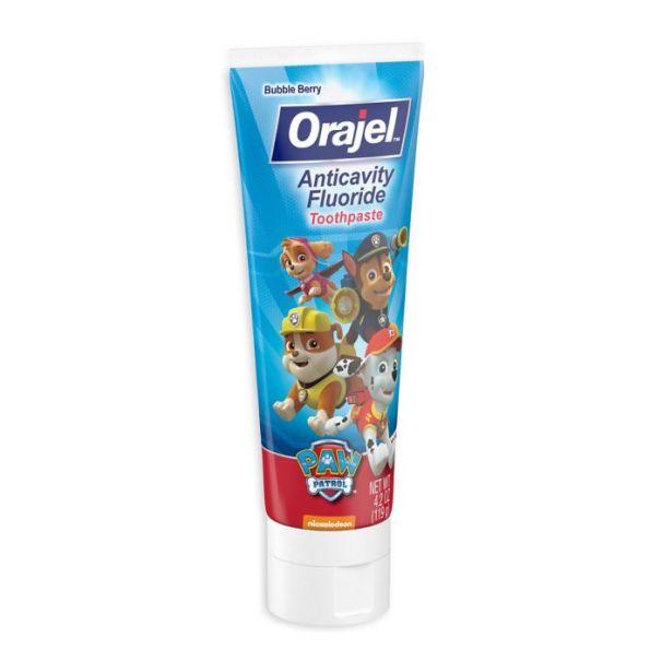 Orajel Paw Patrol Anticavity Fluoride Toothpaste 119gr