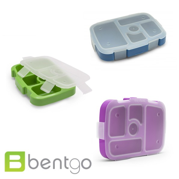 Bentgo Kids Compartment Tray with Transparent Cover