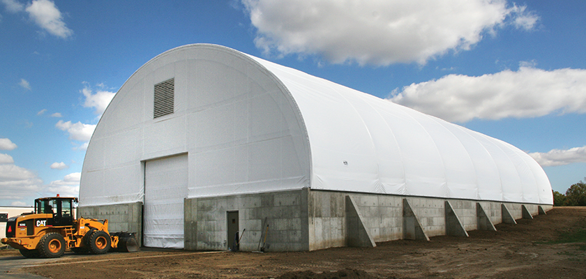 Salt Storage Building Archives Accu Steel Fabric Covered