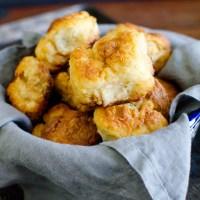 Greek Yogurt Buttermilk Biscuits