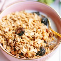 The BEST Homemade Vegan Crunchy Granola