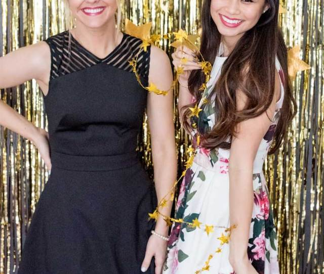 Awesome Inspiration For New Years Eve Party Design And Themes Gold Fringe Photobooth Backdrop And Prop Ideas For New Years