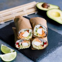 Sushi Burrito Recipe & Video Tutorial
