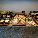 Bay Club Lounge Kerry Hotel Hong Kong Breakfast