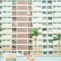 Choi Hung Estate Hong Kong Rainbow Apartments on Instagram