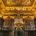 Attractions in Coimbra, Portugal - Coimbra University Biblioteca Joanina