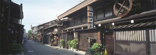 Takayama, Hibachi, japanische Häuser, japanische