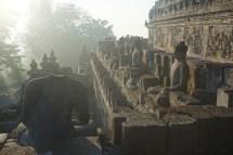 Tempel in Borobudur
