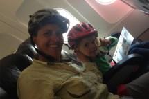 sicher ist sicher - auf dem Flug von Jakarta nach Singapur