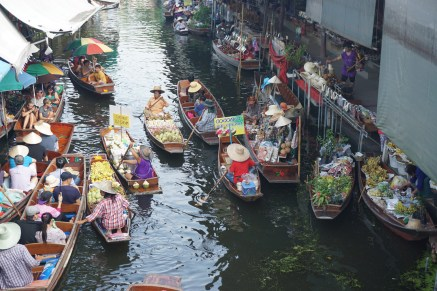 Floating Market, Damnoen Saduak