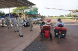 Grenzübergang von Vietnam nach Laos