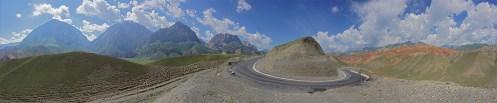 die letzten Kilometer in Kirgistan von Osh nach Sarytasch
