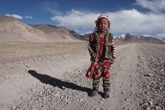 auf der Straße zum Ak-Baital Pass