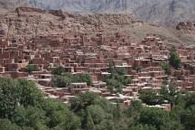 das aus Lehmhäusern bestehende Bergdorf Abyaneh