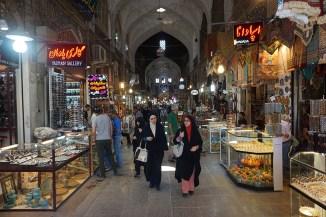 Bazar Qeisarieh (Königsbasar) am Meidan-e Emam - Isfahan