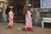buddhistische Nonnen (Bhikkhuni)