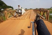 typische Brücke