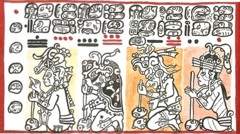 numeracion maya numeros mayas