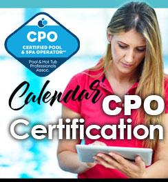 Certification CPO-CALENDAR