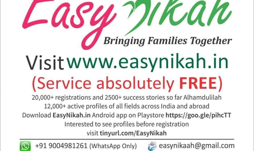 EasyNikah.in – Reviews from users