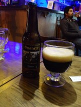 Must Try: Stout beer, Argentine, apparently it has low preservatives and last only for 3 months