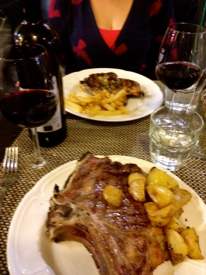 Apparently Florence is known for its steak, no doubt!