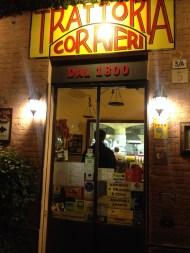 Trattori entrance, Parma