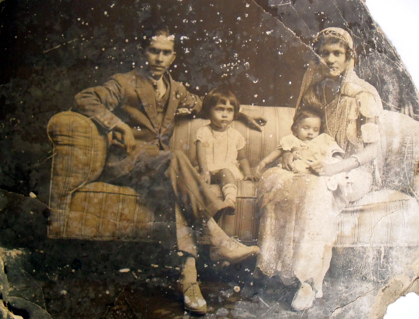 My greatgrandfather on mother's side, Stanley Fernando & family