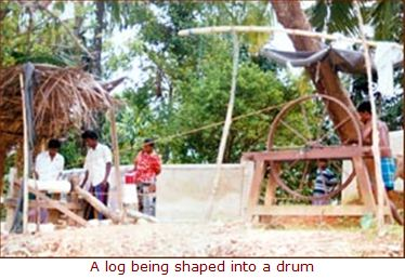 A log Being