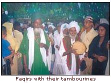 faqirs with their